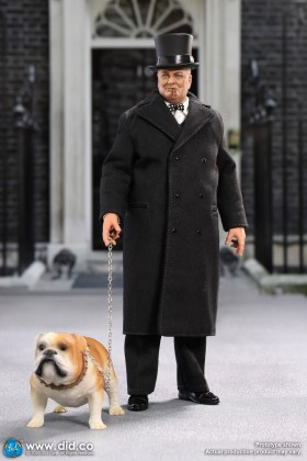 *COMING SOON* Palm Hero Series 1/12 SCALE WW II BRITISH Winston Churchill Prime Minister XA80002