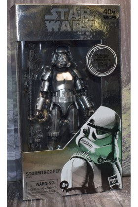 STAR WARS THE EMPIRE STRIKES BACK BLACK SERIES 6 INCH STORMTROOPER CARBONIZED