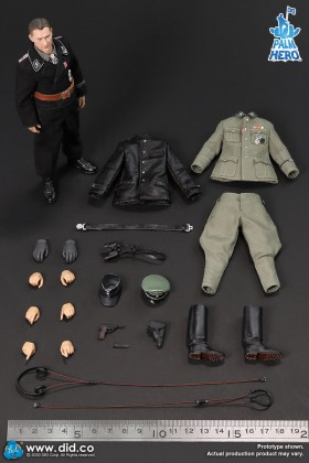 DRAGON IN DREAMS DID Palm Hero Series 1/12 SCALE WW II GERMAN MICHAEL WITTMANN SS-Hauptsturmführer XD80004