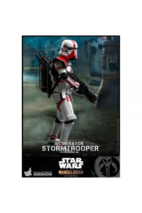 HOT TOYS 1/6 SCALE STAR WARS THE MANDALORIAN INCINERATOR STORMTROOPER - TMS012