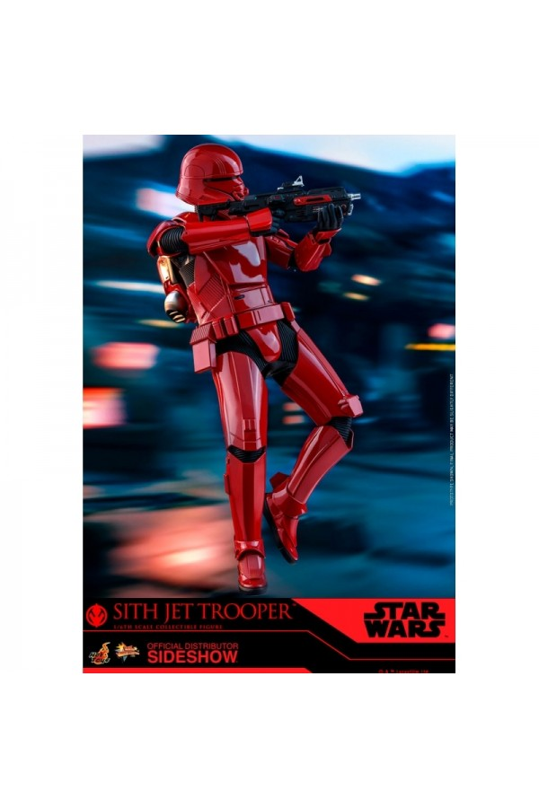 HOT TOYS 1/6 SCALE STAR WARS THE RISE OF SKYWALKER SITH JET TROOPER - MMS562