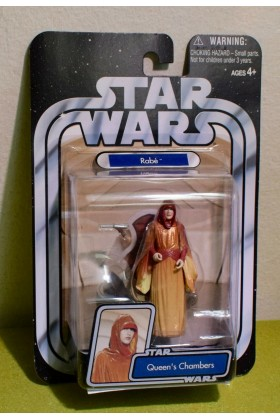 STAR WARS CARDED ORIGINAL TRILOGY RABE QUEENS CHAMBERS EPISODE I PHANTOM MENCE
