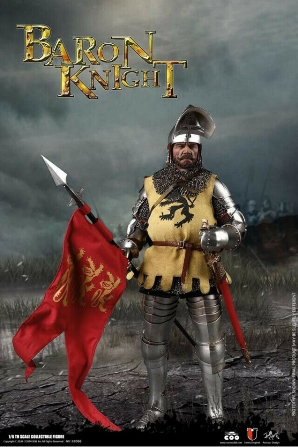COOMODEL 1/6 SCALE SERIES OF EMPIRES (DIE-CAST ALLOY) - BARON KNIGHT - SE066