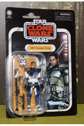 STAR WARS THE VINTAGE COLLECTION THE CLONE WARS ARC TROOPER FIVES VC172