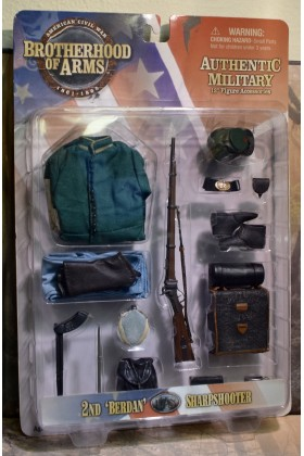 1/6 SCALE CARDED SIDESHOW AMERICAN CIVIL WAR BROTHERHOOD OF ARMS 2nd BREDEN US SHARPSHOOTER