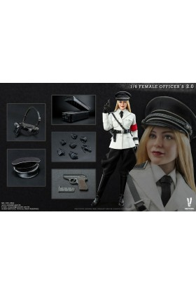 VERYCOOL 1/6 SCALE WWII GERMAN FEMALE SS OFFICER VCF-2051