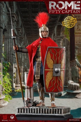 HaoYuTOYS HHmodel 1/6 SCALE ROME Empire Corps-Captain Captain Fifty HH18010 Deluxe Edition