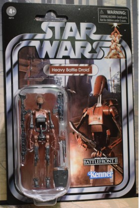 STAR WARS THE VINTAGE COLLECTION STAR WARS HEAVY BATTLE DROID BATTLEFRONT II VC193