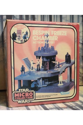 VINTAGE STAR WARS KENNER MICRO COLLECTION BESPIN FREEZING CHAMBER ACTION PLAYSET