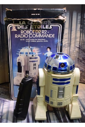 VINTAGE STAR WARS MECCANO RADIO CONTROLLED R2-D2 (untested)