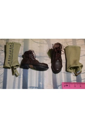 Dragon In Dreams DID 1/6 Scale WW II US Boots & Gaiters from Jackson A80144