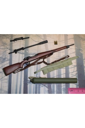 Dragon In Dreams DID 1/6 Scale WW II US Rifle & Accessories from Jackson A80144
