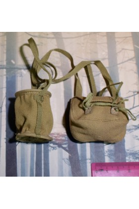 Dragon In Dreams DID 3-R 1/6 Scale WWII Japanese Shoulder Bag from Takuya JP638