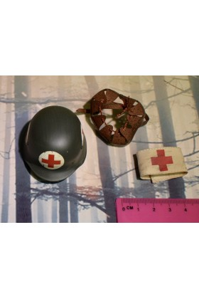 Dragon Dreams DID 1/6 Scale WWII German Medic Helmet Arm Band from Peter D80100