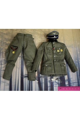 Dragon In Dreams DID 1/6 Scale WWII German Tunic Trousers Cap from Peter D80100