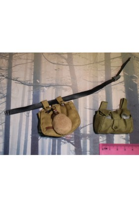 Dragon In Dreams DID 1/6 Scale WWI German Webbing & Pouch from Lutz D11004