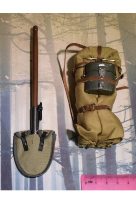 Dragon In Dreams DID 1/6 Scale WWI German Back Pack & Shovel from Lutz D11004