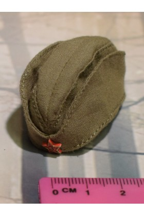 Dragon In Dreams DID 1/6 Scale WWII Russian Side Cap from Vasily D80139B