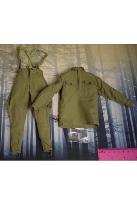 Dragon In Dreams DID 1/6 Scale WWII Russian Trousers & Shirt from Vasily D80139B