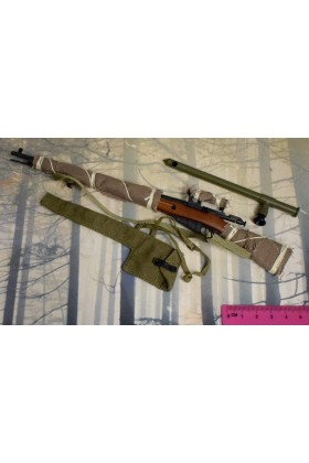 Dragon In Dreams DID 1/6 Scale WWII Russian Sniper Rifle from Vasily D80139B