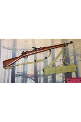 Dragon In Dreams DID 1/6 Scale WWI US Rifle M-1903 & Bandoleer from Buck A11009