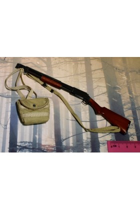 Dragon In Dreams DID 1/6 Scale WWI US Shotgun & Bag from Buck A11009