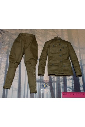 Dragon In Dreams DID 1/6 Scale WWI US Jacket & Trousers from Buck A11009
