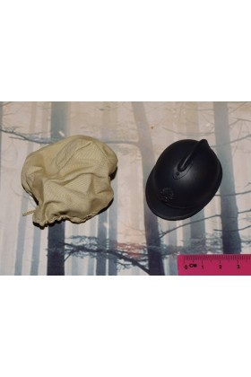 Dragon In Dreams DID 1/6 Scale WW I French Helmet & Cover from Pascal F11003