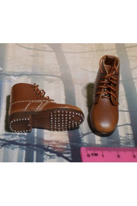Dragon In Dreams DID 1/6 Scale WW I French Brown Boots from Pascal F11003