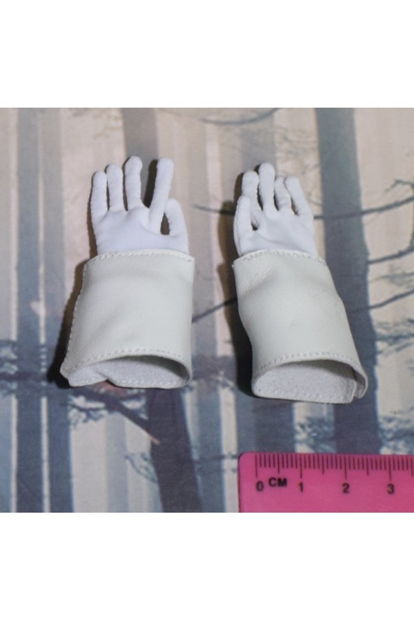 Dragon In Dreams DID 1/6 Scale Napoleonic French White Gloves from Herve N80104