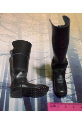 Dragon In Dreams DID 1/6 Scale Napoleonic French Black Boots from Herve N80104
