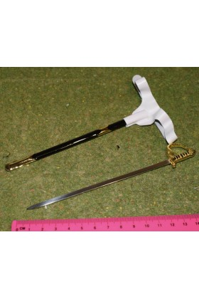 Dragon In Dreams DID 1/6 Scale Napoleonic French Sword & Scabbard from Napoleon N80122