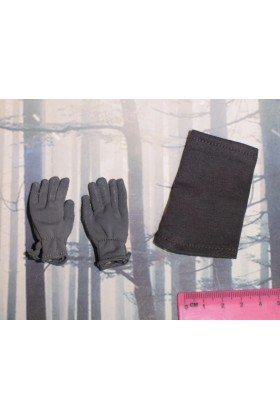 Dragon In Dreams DID 1/6 Scale WW II German Gloves & Toque from Baldric D80125
