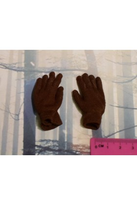Dragon In Dreams DID 1/6 Scale WW II US Brown Gloves from Paul A80115