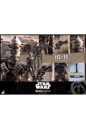 HOT TOYS 1/6 SCALE STAR WARS THE MANDALORIAN - IG11 - TMS008 905332