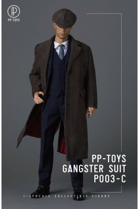 PP-Toys 1/6 Scale WWII Gangster Blue Suit Set P003-C