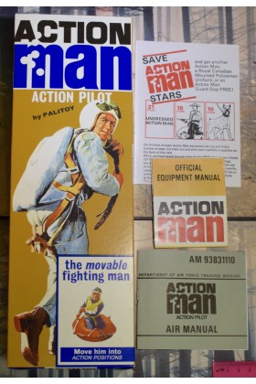 VINTAGE ACTION MAN 40th EMPTY BOX FOR ACTION PILOT ( NO DOLL ) FLAT PACK