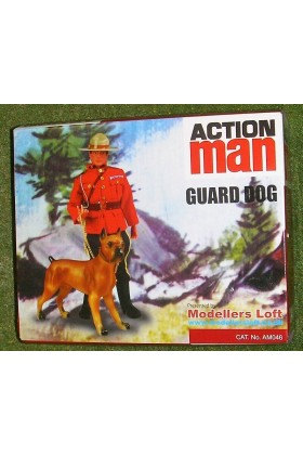 VINTAGE ACTION MAN 40th GUARD DOG ONLY ( NO DOLL ) 1/6 SCALE