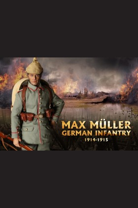 Max Muller German Infantry 1914-1915