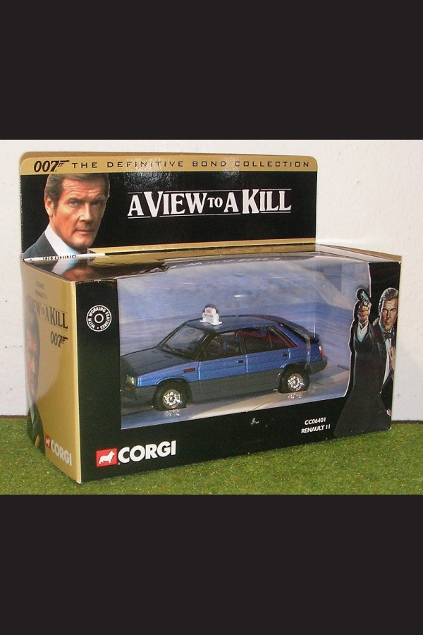 A VIEW TO A KILL - RENAULT 11 - CC06401