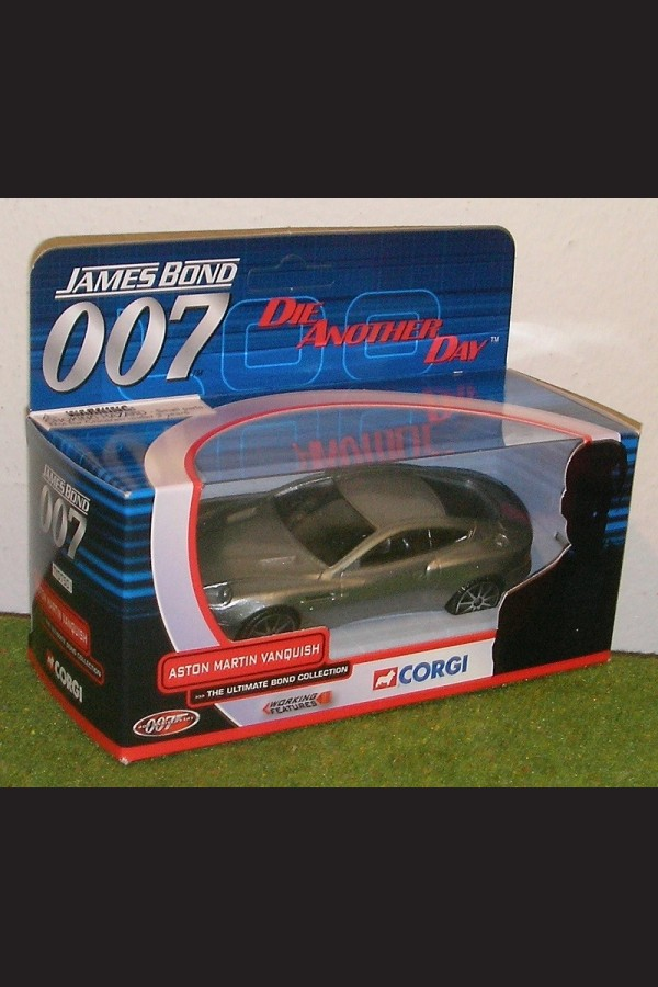 DIE ANOTHER DAY - ASTION MARTIN VANQUISH TY07501