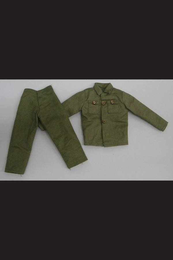 ACTION SOLDIER - GREEN JACKET - TROUSERS - AMERICAN FATIGUES
