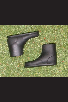 ROYAL MILITARY POLICE MP - BLACK BOOTS