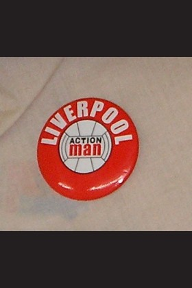 FOOTBALLER - BADGE - LIVERPOOL