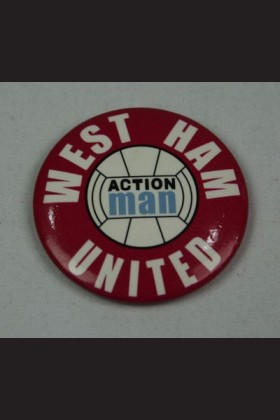FOOTBALLER - BADGE - WEST HAM