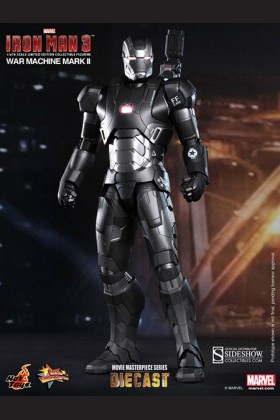 HOT TOYS - SIDESHOW - IRON MAN 3 - WAR MACHINE MARK II DIECAST - 902043