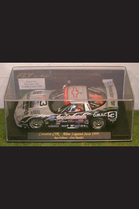 FLY REF A121 CORVETTE C5R ALMS LAGUNA SECA 1999 RON FELLOWS & KNEIFEL SLOT CAR