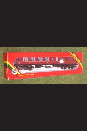 HORNBY TRAINS RAILWAY OO GAUGE COACH R434 LMS COACH 57' BRAKE 3rd