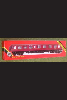 HORNBY TRAINS RAILWAY OO GAUGE COACH R935 LMS COACH FULL THIRD