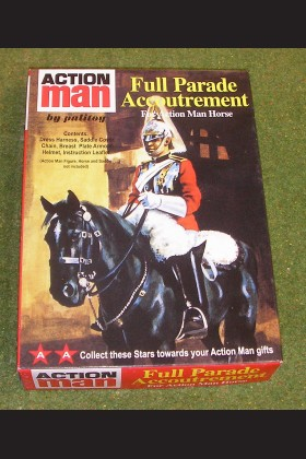 VINTAGE ACTION MAN 40th BOXED FULL PARADE ACCOUTREMENT